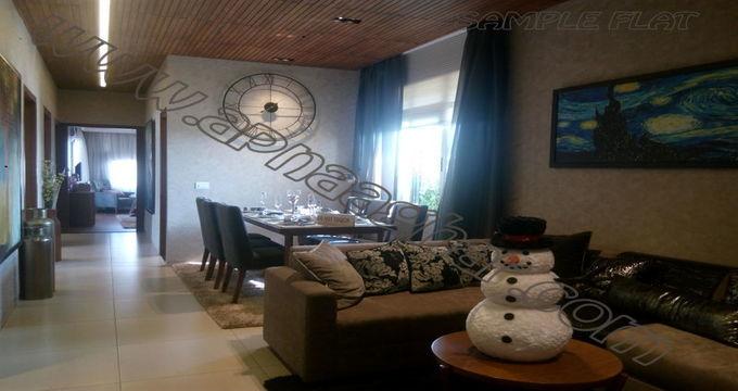 2BHK 1080 sq ft  |Flat|Mohali | Chandigarh| Punjab | Zirakpur| Apnaaghar.com | 9781191177