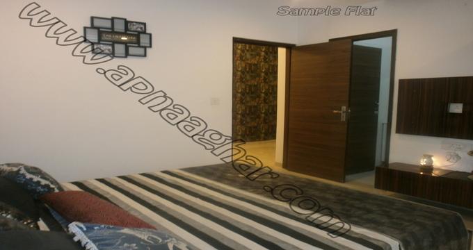 2 BHK 1100 sq ft IVth floor of S+11   Zirakpur Patiala Highway   Zirakpur   Punjab   Apnaaghar.com