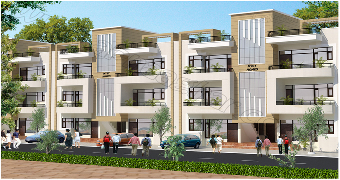 1110 sq ft 2 BHK Independent GF of G+2 | Zirakpur Patiala Highway | Zirakpur | Punjab | Apnaa Ghar