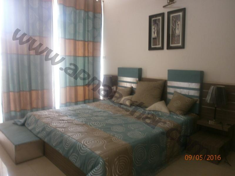 3 BHK well furnished  flat on 12th Floor of G+12 | VIP Road | Zirakpur | Punjab | Apnaaghar