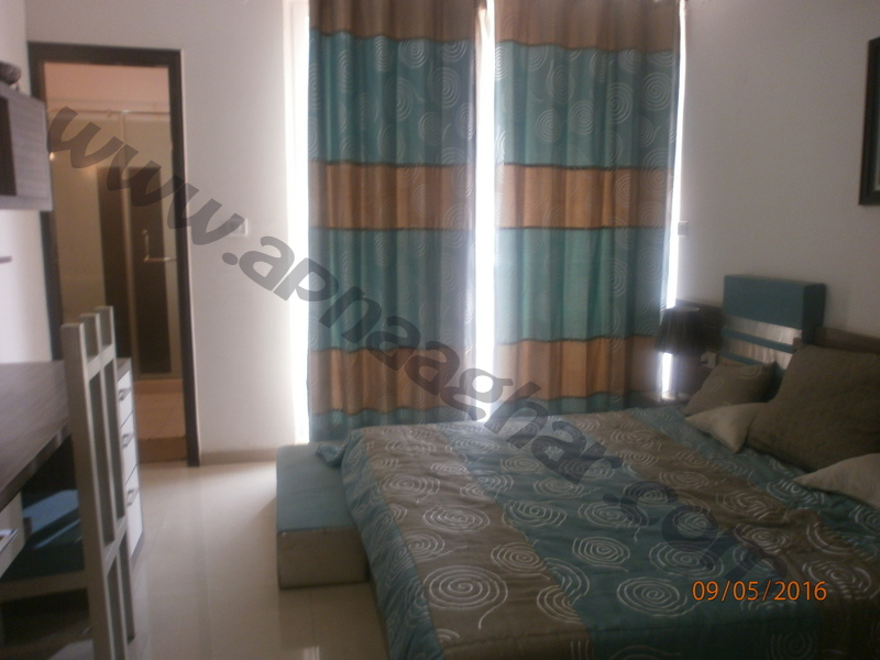 3 BHK well furnished  flat on 4th Floor of G+12 | VIP Road | Zirakpur | Punjab | Apnaaghar