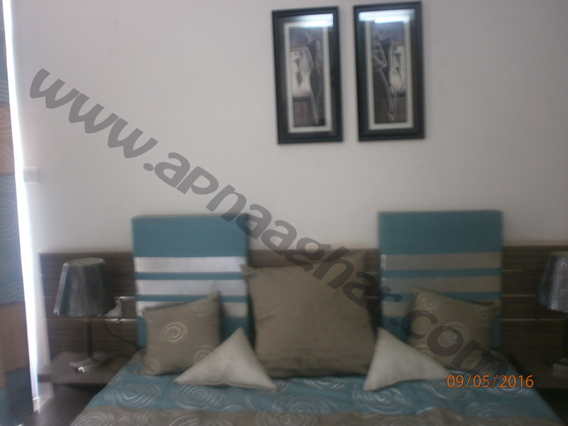 3 BHK well furnished  flat on 9th Floor of G+12 | VIP Road | Zirakpur | Punjab | Apnaaghar