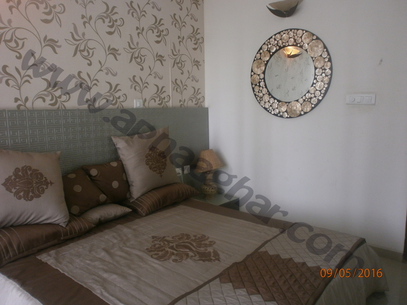 3 BHK well furnished  flat on 6th Floor of G+12 | VIP Road | Zirakpur | Punjab | Apnaaghar