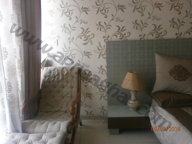 3 BHK well furnished  flat on 7th Floor of G+12 | VIP Road | Zirakpur| Punjab | Apnaa Ghar
