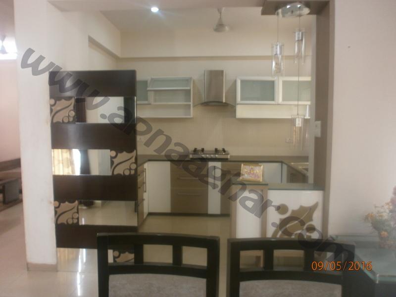 3 BHK well furnished  flat on 2nd Floor of G+12 | VIP Road | Zirakpur | Punjab | Apnaaghar