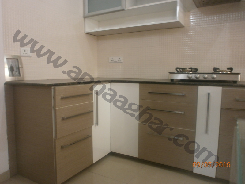 3 BHK well furnished  flat on Ground Floor of G+12 | VIP Road | Zirakpur | Punjab | Apnaaghar