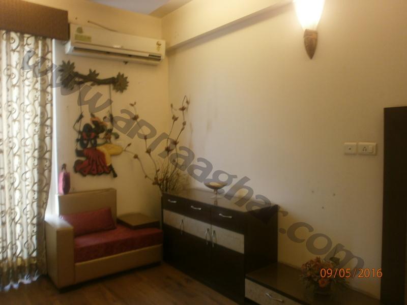 3 BHK well furnished  flat on 10th Floor of G+12 | VIP Road | Zirakpur| Punjab | Apnaa Ghar