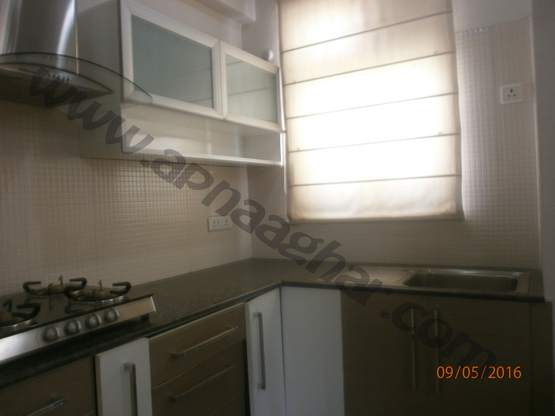 3 BHK well furnished  flat on Ground Floor of G+12 | VIP Road | Zirakpur| Punjab | Apnaa Ghar