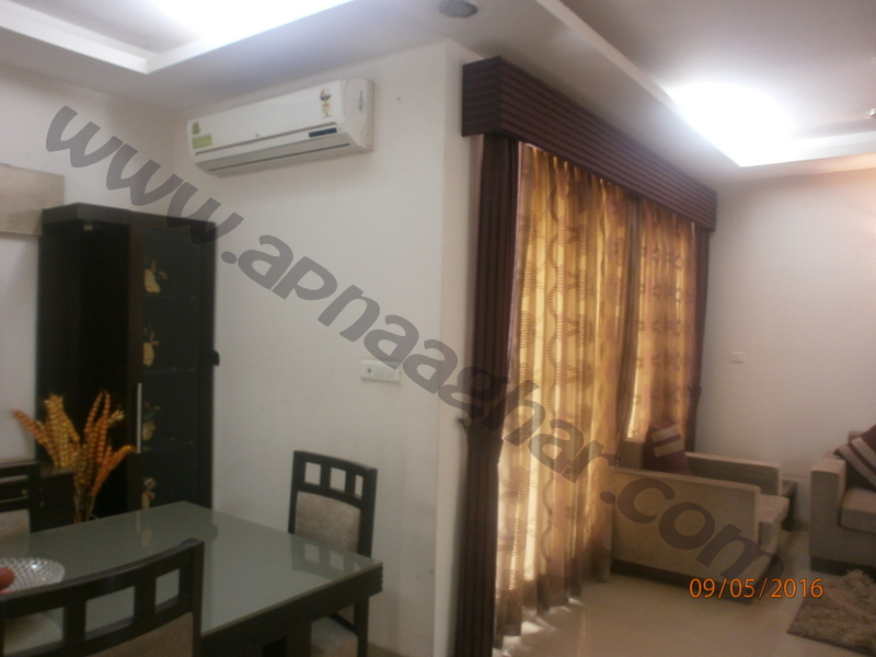 3 BHK well furnished  flat on 3rd Floor of G+12 | VIP Road | Zirakpur | Punjab | Apnaaghar