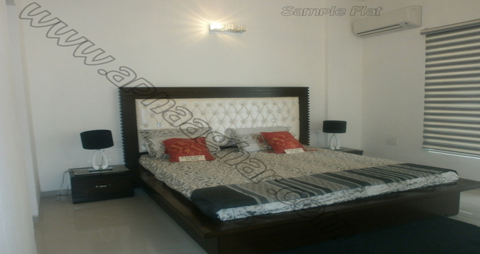 3 BHK flat with servant room 1417 sq ft 11th floor of S+13 | Zirakpur Patiala Highway | Punjab