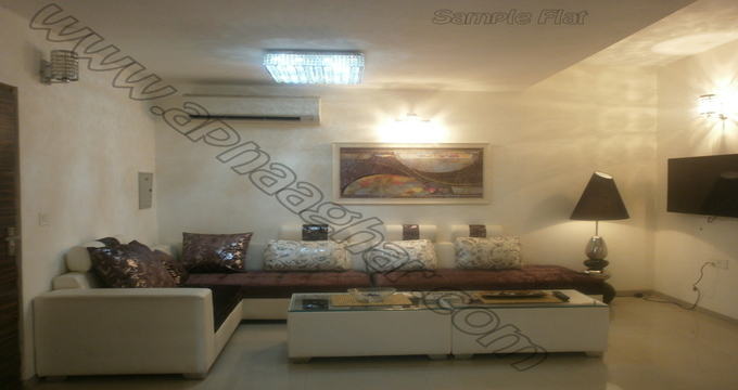 3 BHK flat with servant room 1417 sq ft 2nd floor of S+13 | Patiala Zirakpur Highway | Punjab | Apnaaghar.com