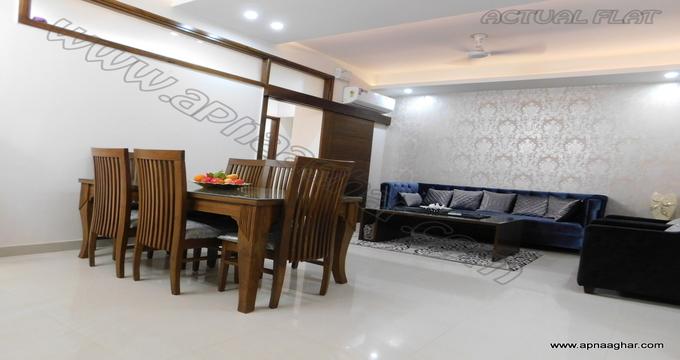 3 BHK 1458 sq ft  Flat  Independent House Kharar   Mohali   Chandigarh  Punjab   Zirakpur  Apnaaghar.com   9781191177