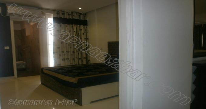 4 BHK 2292 sq ft 1st floor of G+13 | VIP Road Zirakpur | Punjab | Apnaaghar.com